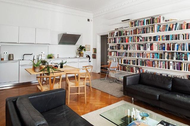 apartamento con decoracion nordica