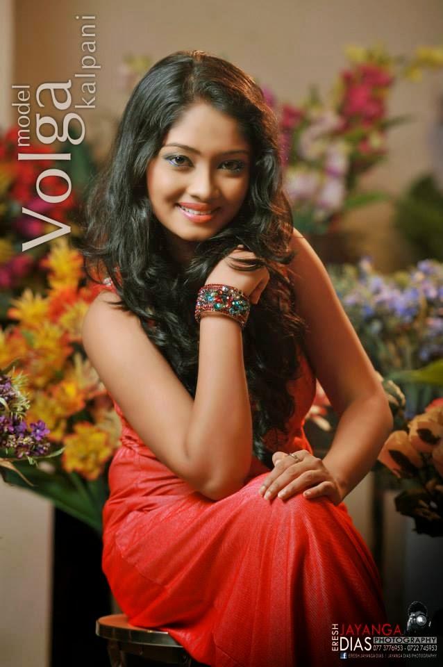 volga kalpani sri lankan actress
