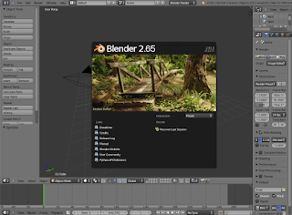 Blender 2.65a In Ubuntu