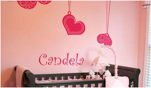 Decora y disena habitaci n del beb decoraci n de paredes - Disena tu habitacion ...
