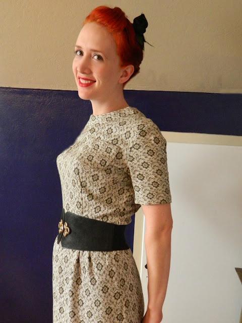 1960s wiggle dress  Just Peachy, Darling