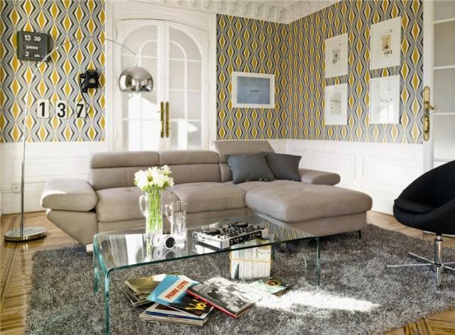 Decoracion con vinilo decorativo murales papel pintado - Como decorar con papel pintado ...