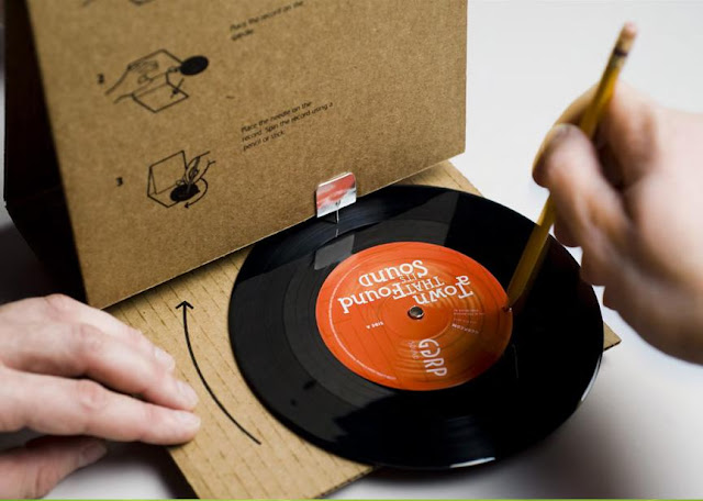 GGRP Sound: Cardboard Record Player