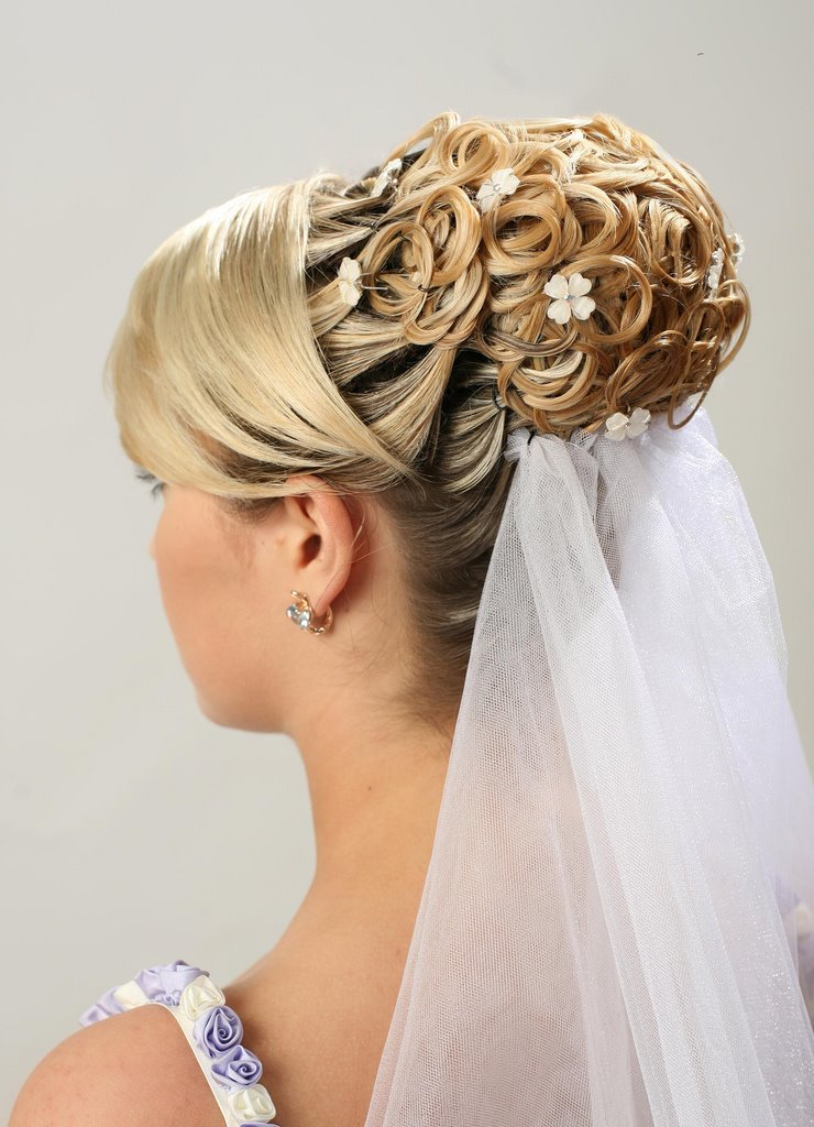 Wedding Hairstyles For Long Hair How To : Bridal hairstyles for long hair half up, Bridal hairstyles for long ...