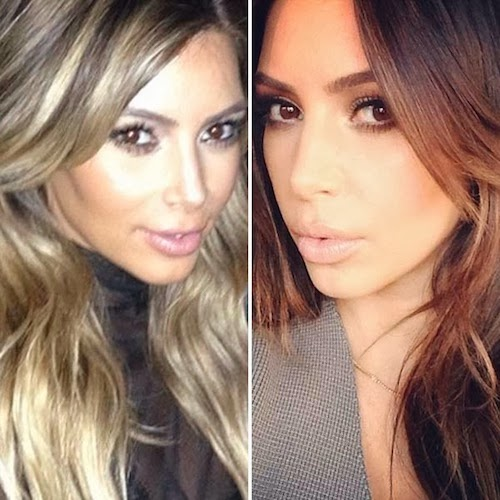 how to go from blonde to brunette