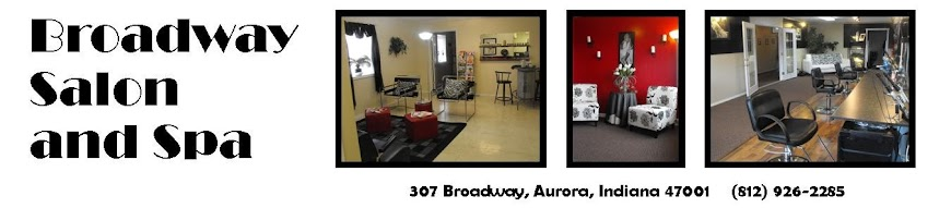 Broadway Salon and Spa Aurora Indiana