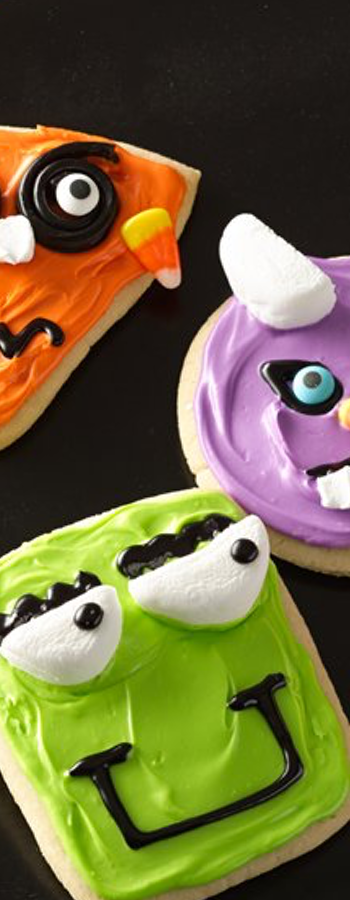 Wacky Monster Cookies via Pillsbury