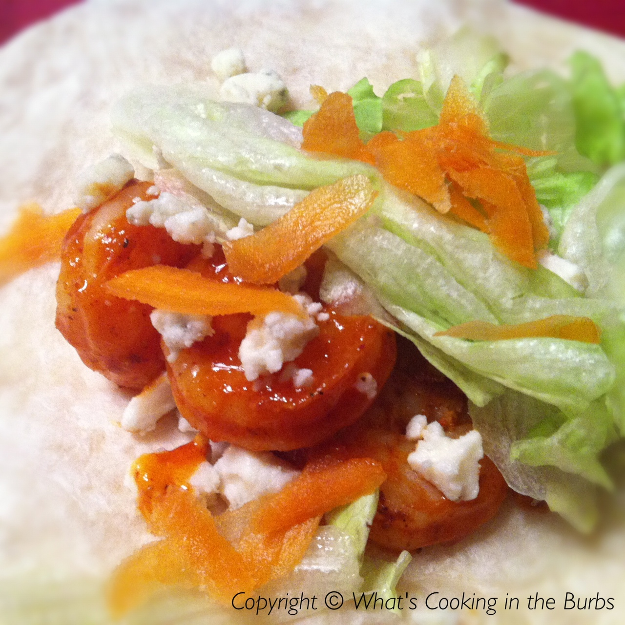 What's Cooking in the Burbs: Buffalo Shrimp Tacos