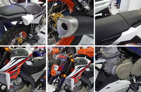 modifikasi Yamaha Vixion Advance 2015