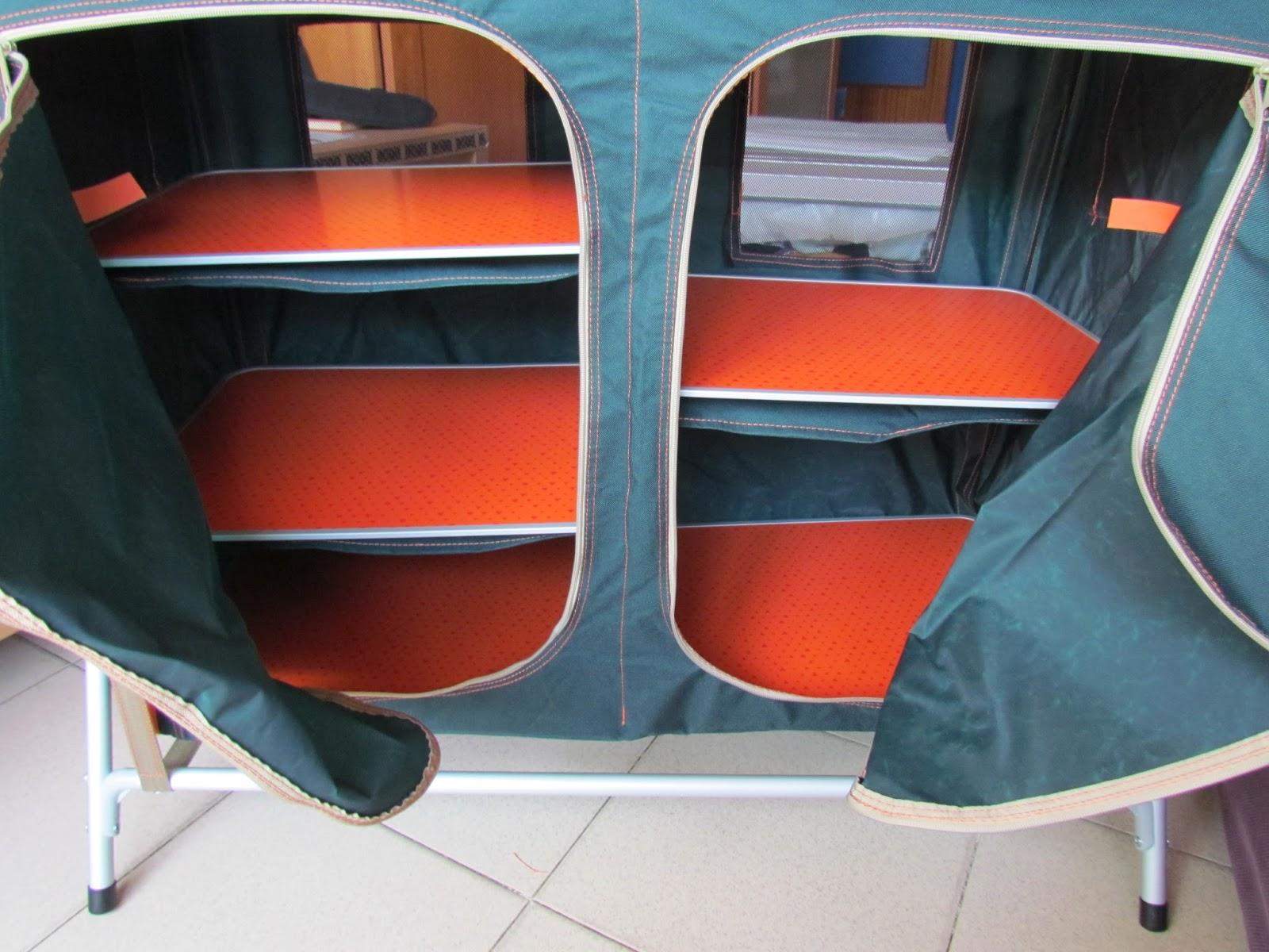 Bricolaje hazlo tu mismo mobiliario camping mueble de - Mueble cocina camping decathlon ...