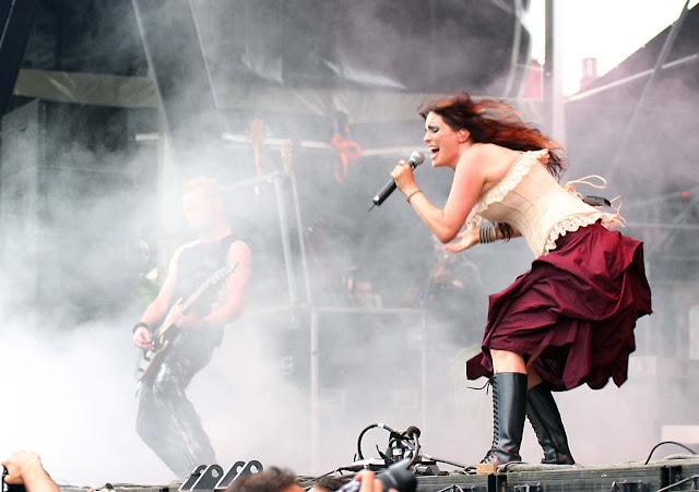 Within Temptation,Angels,rock concert