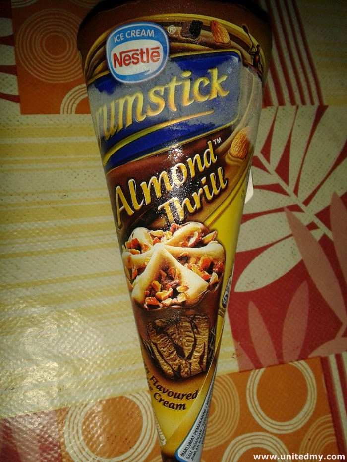 Drumstick Almond Thrill