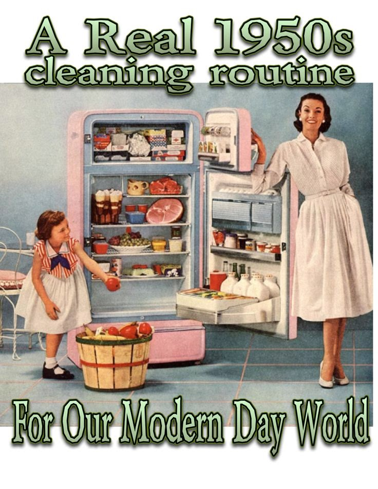 http://the50shousewife.com/2014/07/a-real-1950s-daily-cleaning-routine/