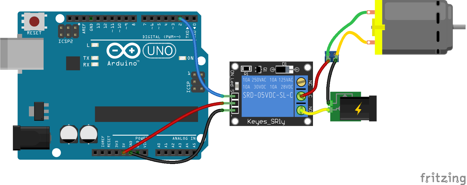 Arduino Relay Module Interface