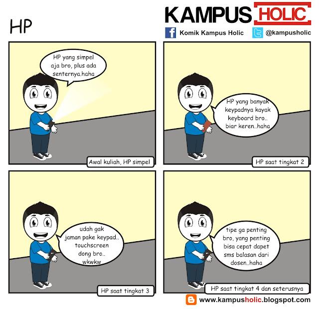 #097 tipe HP mahasiswa kampus holic