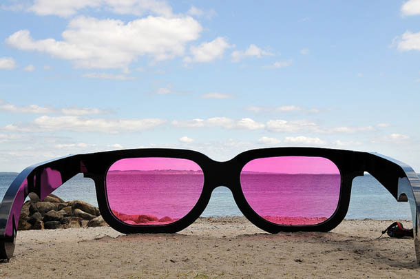 Sea Pink - Escultura de Marc Moser - Sculpture by the Sea