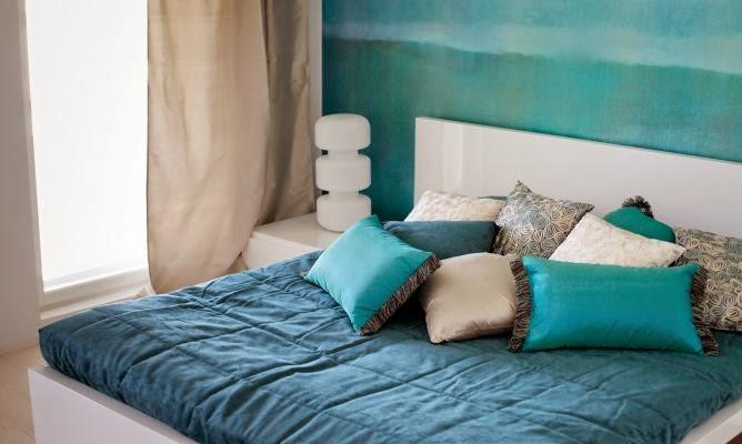Dormitorios color azul - Colores azules para habitaciones ...