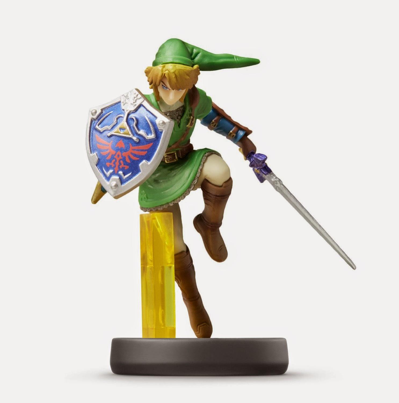 JUGUETES - NINTENDO Amiibo - 5 : Figura Link (Zelda)   (28 noviembre 2014) | Videojuegos | Muñeco | Super Smash Bros Collection  Plataforma: Wii U