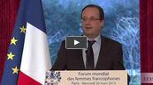 Hollande blague sur...la démission de Cahuzac