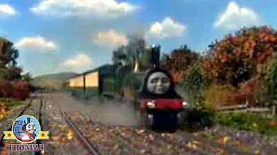 As good as Gordon train Thomas and friends Emily the train sea shipping harbor Brendam docks ahead