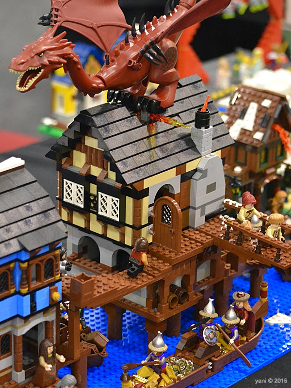brick-a-laide attack on laketown