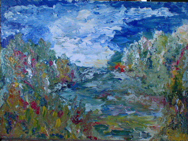 Lukisan Alam 70x 50 cm...
