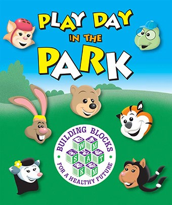 Brinde Gratis Livro Play Day in the Park