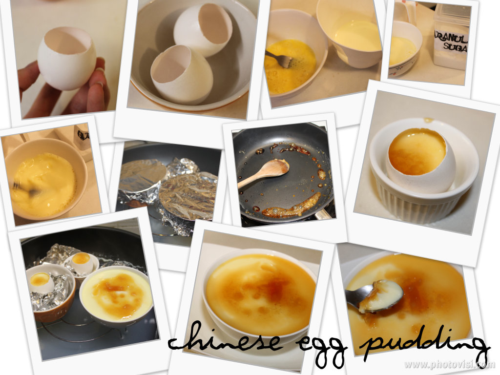 CHINESE EGG PUDDING WITH BURNT CARAMEL ~ Foodtastic Angelina