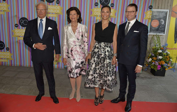 King Carl Gustaf of Sweden and Queen Silvia of Sweden, Crown Princess Victoria of Sweden and Prince Daniel of Sweden