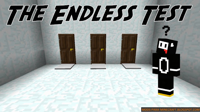 Endless Test Mapa para Minecraft 1.8
