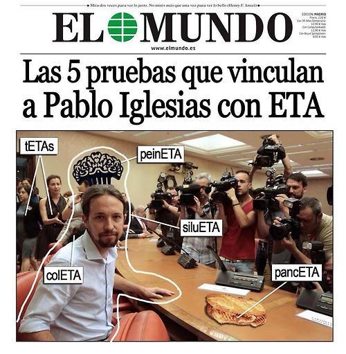 Las 5 pruebas que vinculan a Pablo Iglesias con ETA