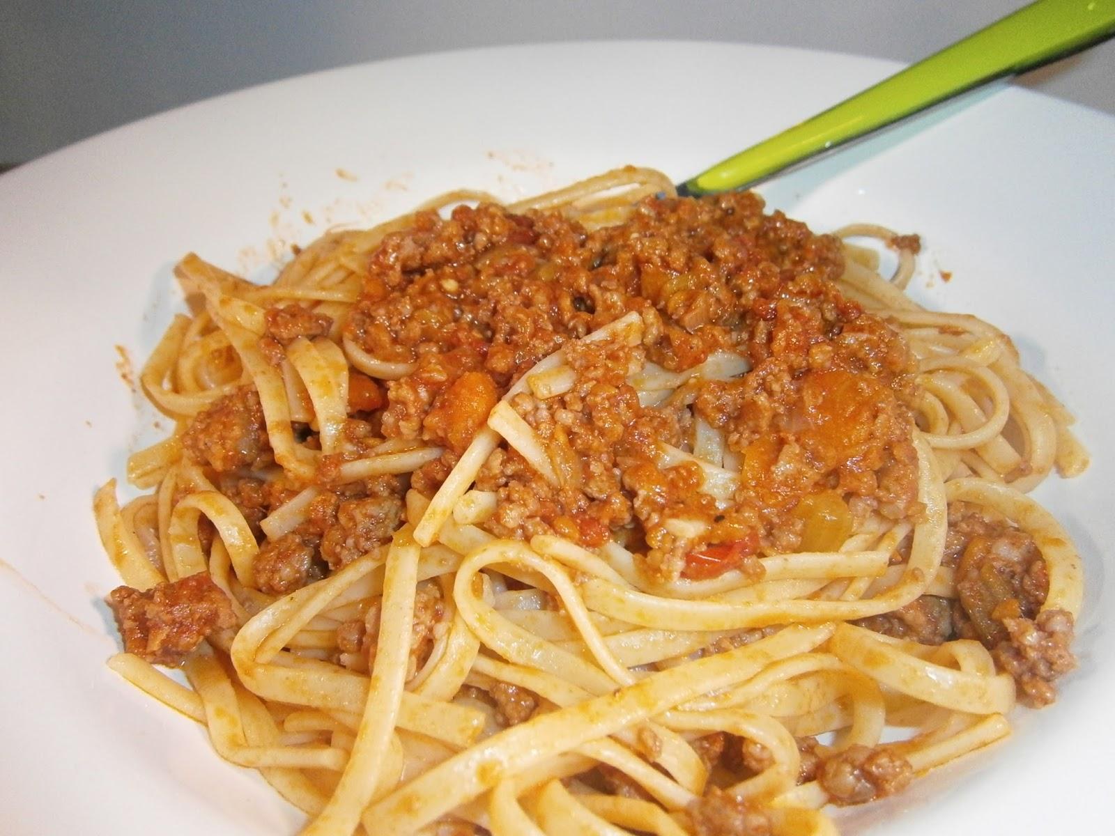 d 233 lices d une novice quot rag 249 alla bolognese quot sauce bolognaise viande hach 233 e tomate carotte