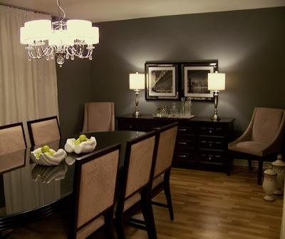 Dark wood floors wall colors types of wood for Dark painted rooms