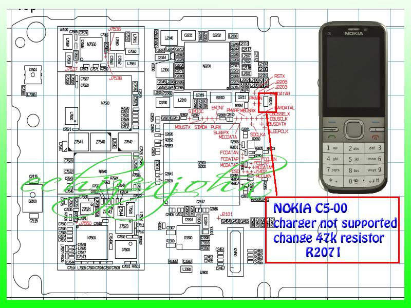 NOkia C5_00 Charging Not Supported Solution Repair-2012