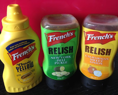 My happy kitchen test: French's mosterd en relish
