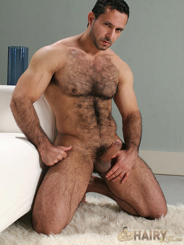 Adam Champ Hairy