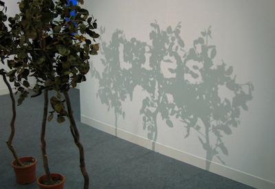 Lies Illusion with Garden Art