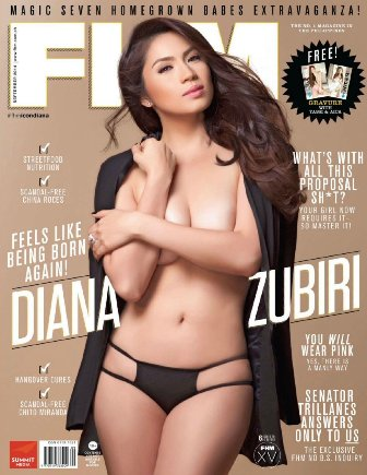 Download FHM Philippines September 2014 FHM Cover Diana Zubiri