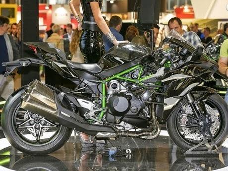 Kawasaki Ninja H2 - H2R Tidak Di Jual Di Showroom