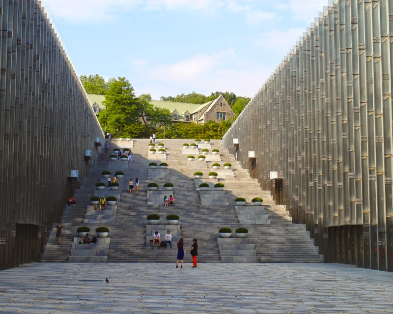 ewha university campus summer studies ecc seoul korea travel lunarrive blog singapore