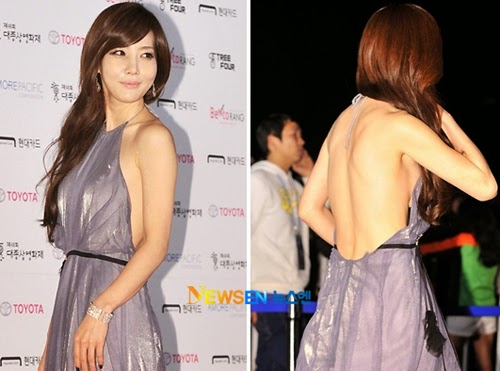 Kim Hye Jin (김혜진) - 48th Daejong Film Festival Awards (2011) Ceremony on 5th October 2011