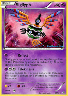 Sigilyph #41/98 Emerging Powers Pokemon Card