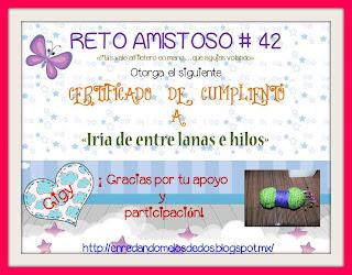 Certificado reto 42