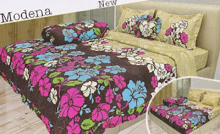 sprei Lady Rose Modena