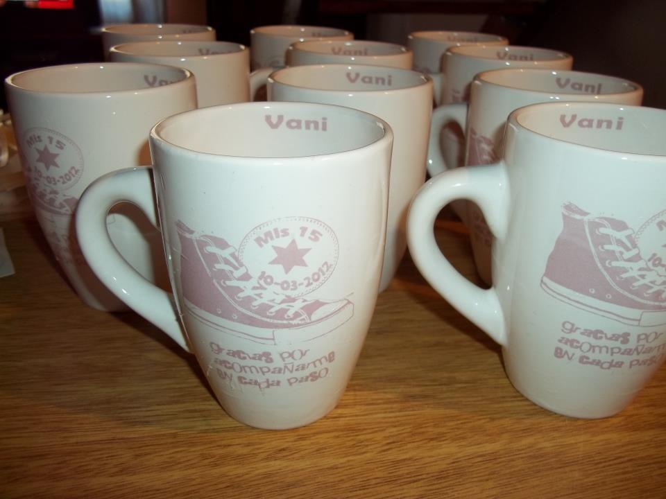 Tazas de ceramica y vajilla especiales y personalizadas - Como decorar una taza ...