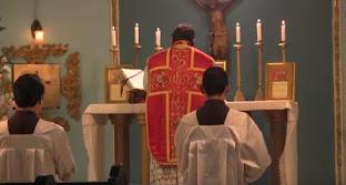 Sagrada Misa Tridentina en el canal Católico Teleamiga