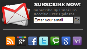 Add A Cool Subscription Box For Blogger In Sidebar