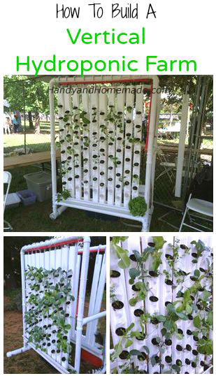 How To Build A Vertical Hydroponic Farm Diy Handy Homemade