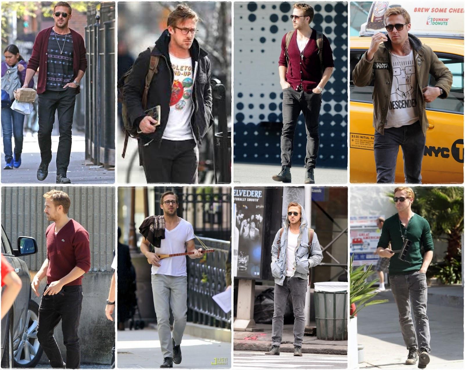 Ryan Gosling street style - trendsetter
