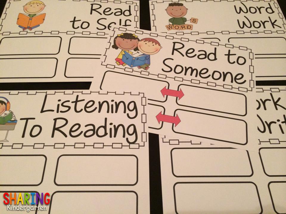 http://www.teacherspayteachers.com/Product/Starting-Literacy-Work-Stations-Set-242664